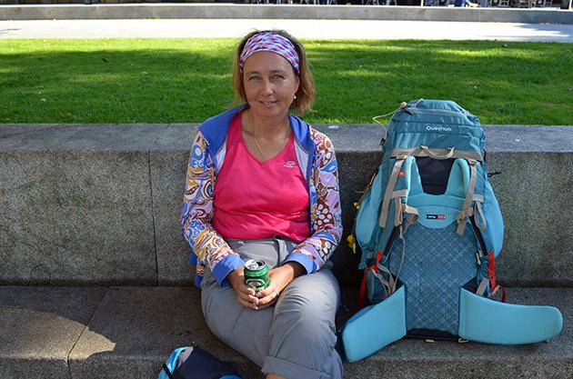 Plano Americano de Mayke. Conversación en Vigo, España. Fuente: www.ritapouso.com