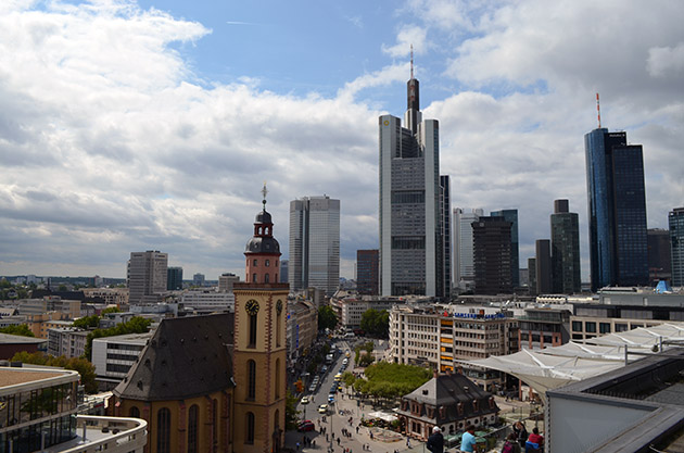 Views from the Zeilgalerie Mall. Frankfurt am Main, 2015. Source: www.ritapouso.com
