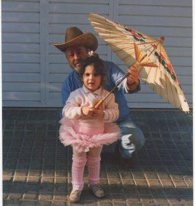 Mi abuelo y yo. Fuente: www.ritapouso.com